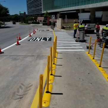 Parking Lot Lining & Sweeping San Antonio TX