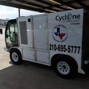 Garage Striping San Antonio TX